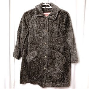 Vintage Susan Lynn Woman's XL - 1X Faux Fur Coat